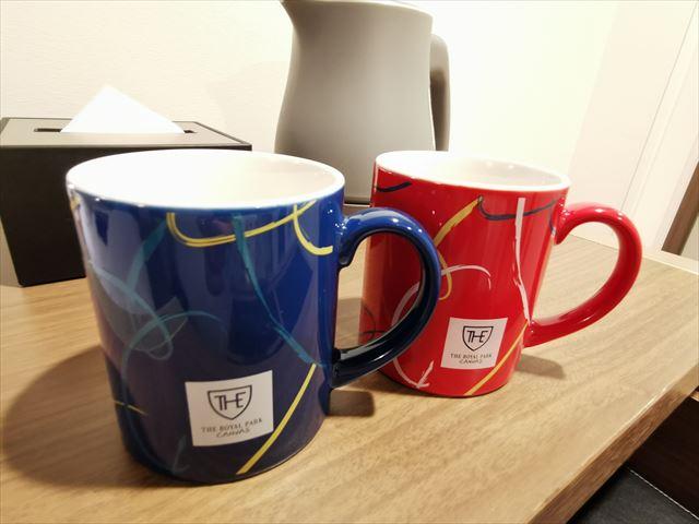 ロイヤルパークキャンバス京都二条のマグカップ