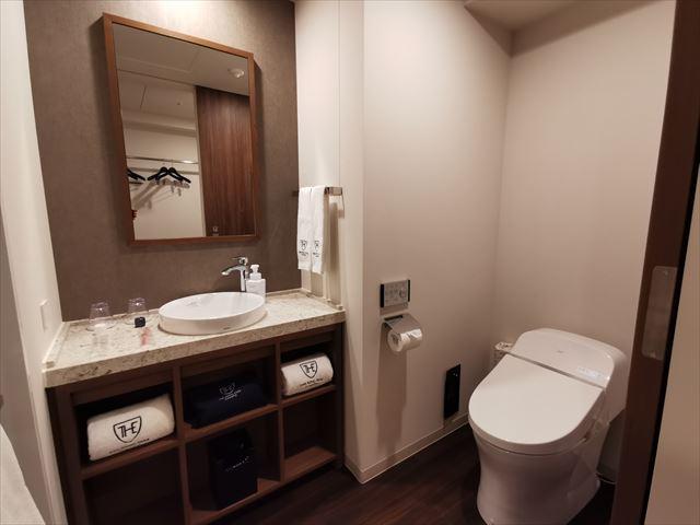 ロイヤルパークキャンバス京都二条の部屋