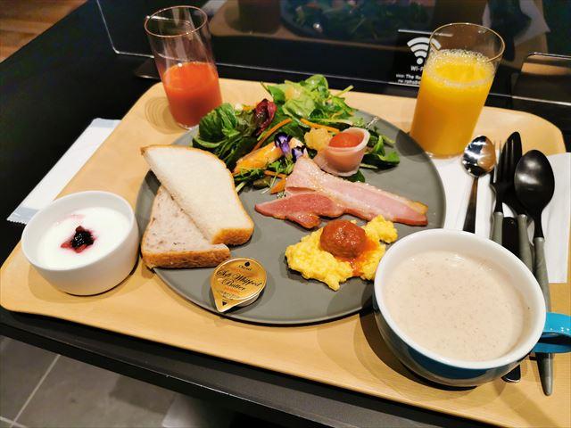 ロイヤルパークキャンバス京都二条の朝食