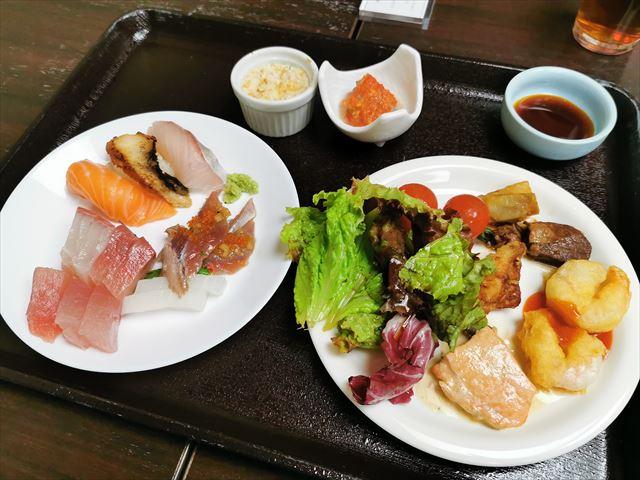 鳥羽グランドホテルの夕食ビュッフェ