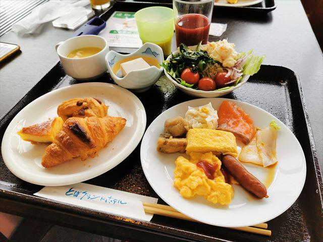 鳥羽グランドホテルの朝食ビュッフェ