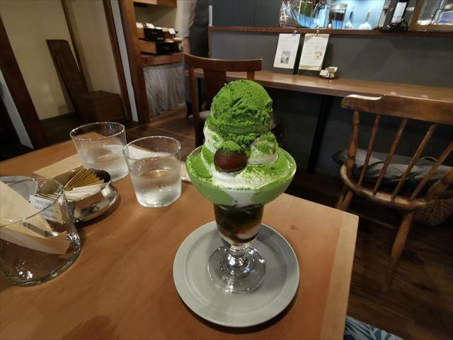カフェ オリジ(cafe origi)のパフェ