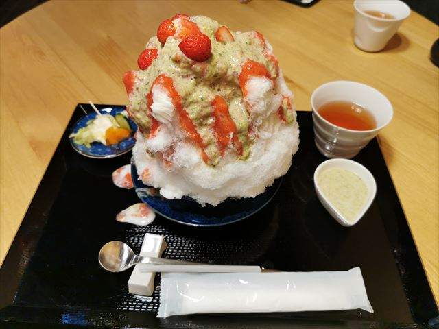 四条堀川茶屋のかき氷