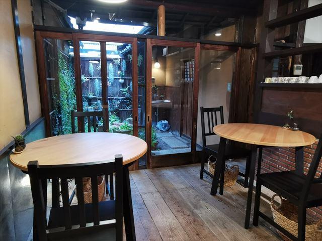 四条堀川茶屋の店内