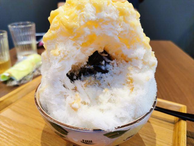 京の氷屋さわのかき氷(京の白みそ)