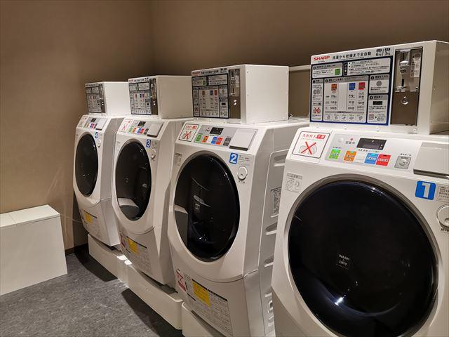 ホテルエミオン京都 洗濯機