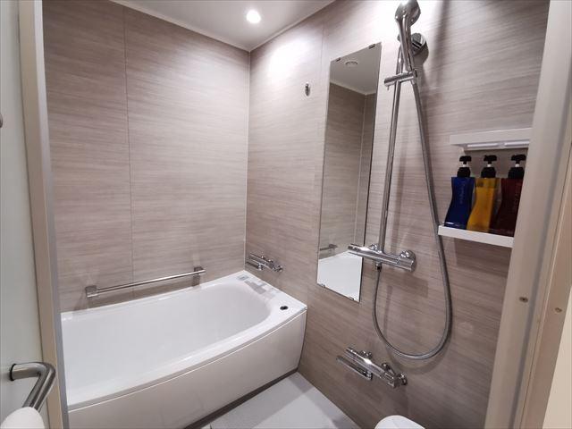ホテルエミオン京都のお風呂