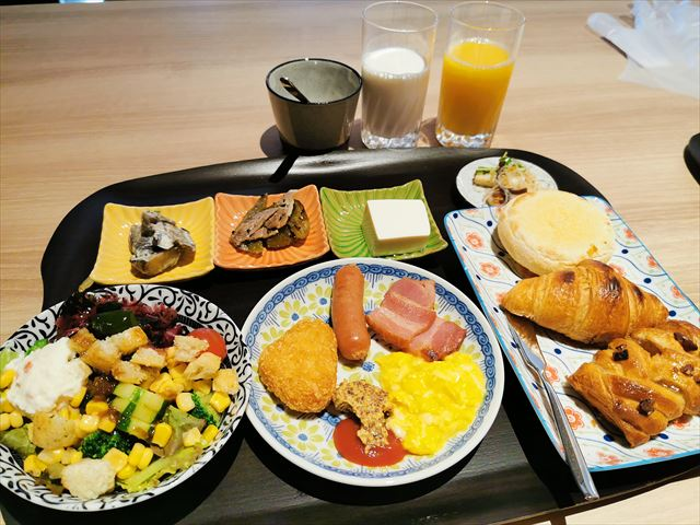ホテルエミオン京都の朝食